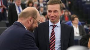 Lucke stößt im EU-Parlament auf Widerstand