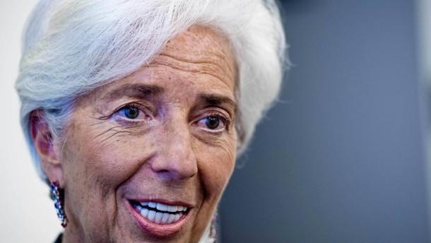 Lagarde gerät wegen Eurokrise intern unter Druck