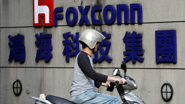 Foxconn verstößt in China gegen Arbeitsregeln