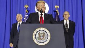 Umweltschützer machen gegen Trump mobil