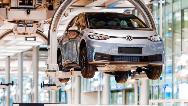 Volkswagen hebt ab