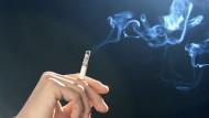 Verkauf von Zigaretten sinkt auf Rekordtief