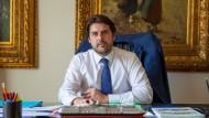 Stefano Buffagni, italienischer Staatssekretär für wirtschaftliche Entwicklung