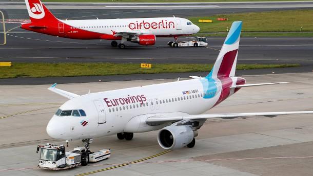 Lufthansa wächst stark, Eurowings macht Verlust