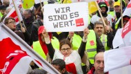 Gewerkschaften drohen mit Streik-Eskalation