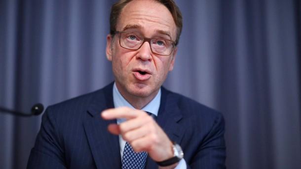 Bundesbankpräsident erwartet deutlichen Anstieg der Inflation