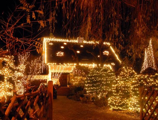 Leuchtmittel Weihnachtsbeleuchtung.Bild Zu Leuchtmittel Trickserei Lampen Verbrauchen Mehr Strom Als