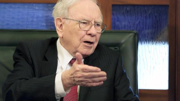 Warren Buffett freut sich über Rekordgewinn