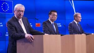 Doch keine Klima-Erklärung bei EU-China-Treffen
