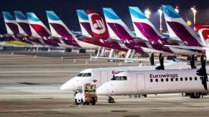 Eurowings startet Warnstreik in Düsseldorf