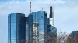 Investmentbanking macht Deutscher Bank zu schaffen