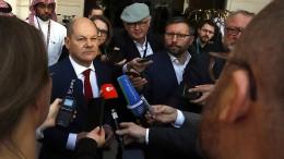 Scholz kämpft für Mindestbesteuerung von Unternehmen