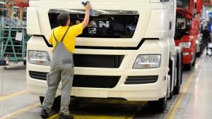 Volkswagen kauft über die Börse MAN-Aktien