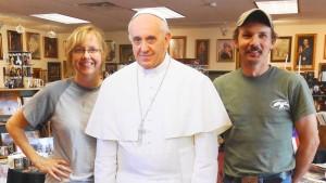 Das Geschäft mit dem Papst