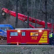 Die Bergungsarbeiten an der Bahnlinie zwischen den Gemeinden Kolbermoor und Bad Aiblingen sind weitgehend erledigt.