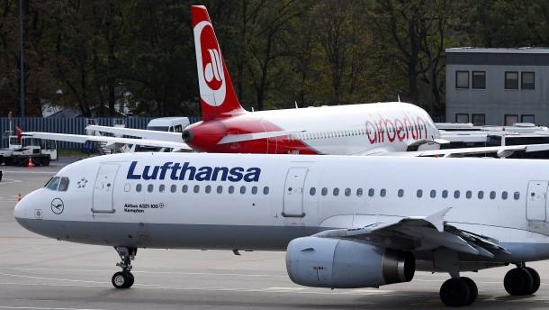 Lufthansa bessert im Ringen um Air Berlin in Brüssel nach