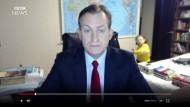 Korea-Experte Kelly kam im heimischen Büro zu Weltruhm - dank seiner Kinder, die vor die Kamera lief