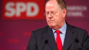 Steinbrück fordert mehr Geld gegen Jugendarbeitslosigkeit
