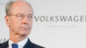 """VW-Aufsichtsratschef: """"Welche Krise?"""""""
