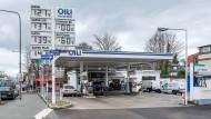 Tankstelle in Frankfurt