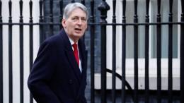 Britischer Finanzminister sagt Europa-Diskussion ab