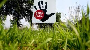 Regierung will Teilverbot für Gas-Fracking