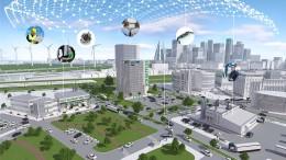 Die Stadt der Zukunft