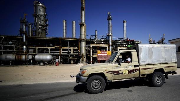 Die Ölindustrie ist schon zurück in Libyen