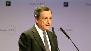 """Draghi findet Erholung der Inflation """"nicht selbsttragend"""""""
