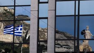Griechenlands Gläubiger zeigen sich genervt