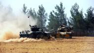 Türkei plant offenbar Offensive auf syrische Grenzstadt