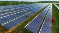 Immer mehr Strom aus Erneuerbaren: In Deutschland wird schon knapp ein Drittel aus Windkraft-, Solaranlagen und Co. gewonnen.