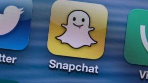 Yahoo will offenbar bei Foto-Dienst Snapchat einsteigen