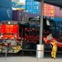 """Der """"Yuxinou""""-Zug fährt von China bis nach Duisburg."""