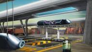 Schneller als 1200 Stundenkilometer soll der Hyperloop einmal fahren.