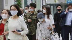 Japans Verbraucher missachten die Covid-Auflagen