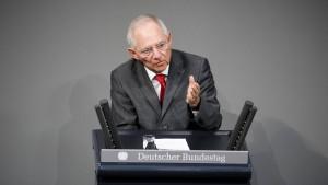 Schäubles Null-Festspiele