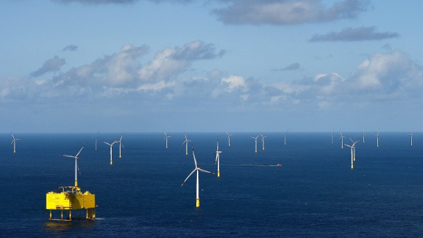 BASF baut den größten Windpark der Welt
