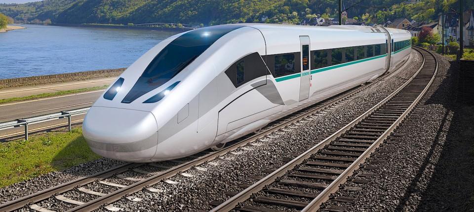 Siemens stellt den ICE der Zukunft vor