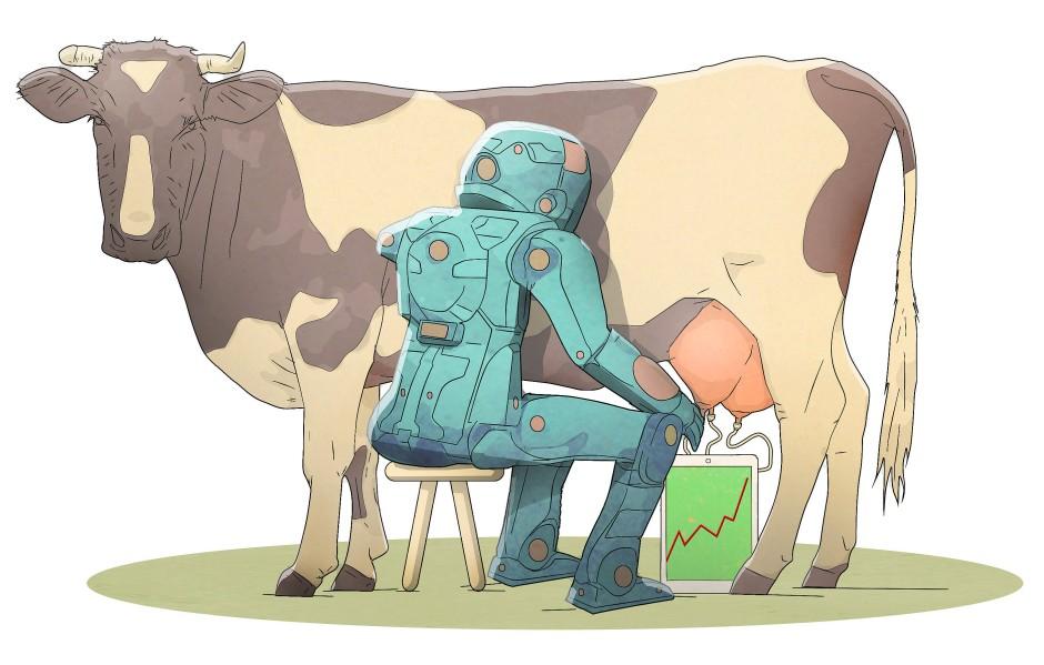 Milch vom Spezialisten.