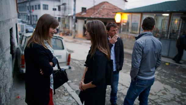 Die Bulgaren und Rumänen kommen