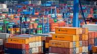 Die deutschen Exporte sind auch wieder gestiegen.