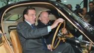 Altkanzler Schröder wirbt für VW-Patriarch Piëch