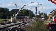 Riesenschaden durch die gesperrte Rheintalstrecke