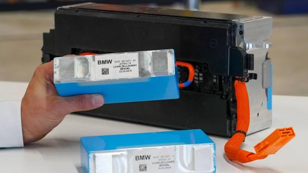 BMW findet zweiten Lithium-Lieferanten