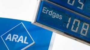 Bei Aral können Autofahrer wieder Erdgas tanken