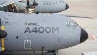 Spanien stoppt Testflüge von Militärtransporter A400M