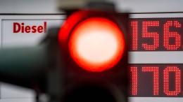 Der Dieselpreis erreicht abermals ein Rekordhoch