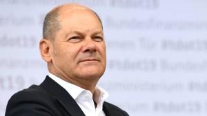 Olaf Scholz nimmt die Privatwirtschaft in die Pflicht