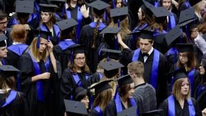 Deutschlands Studenten wollen zum Staat